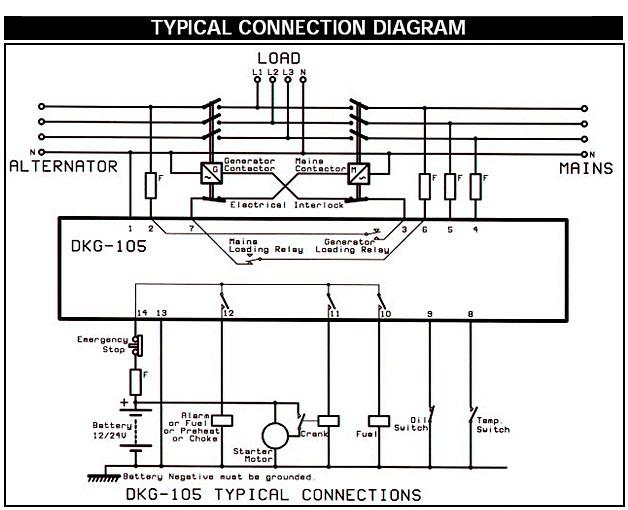 Datakom dkg 105 инструкция
