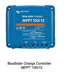 BlueSolar Charger Controller MPPT 100-15