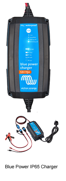 Blue Power Charger IP65