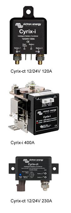 Cyrix-i Battery Combiner